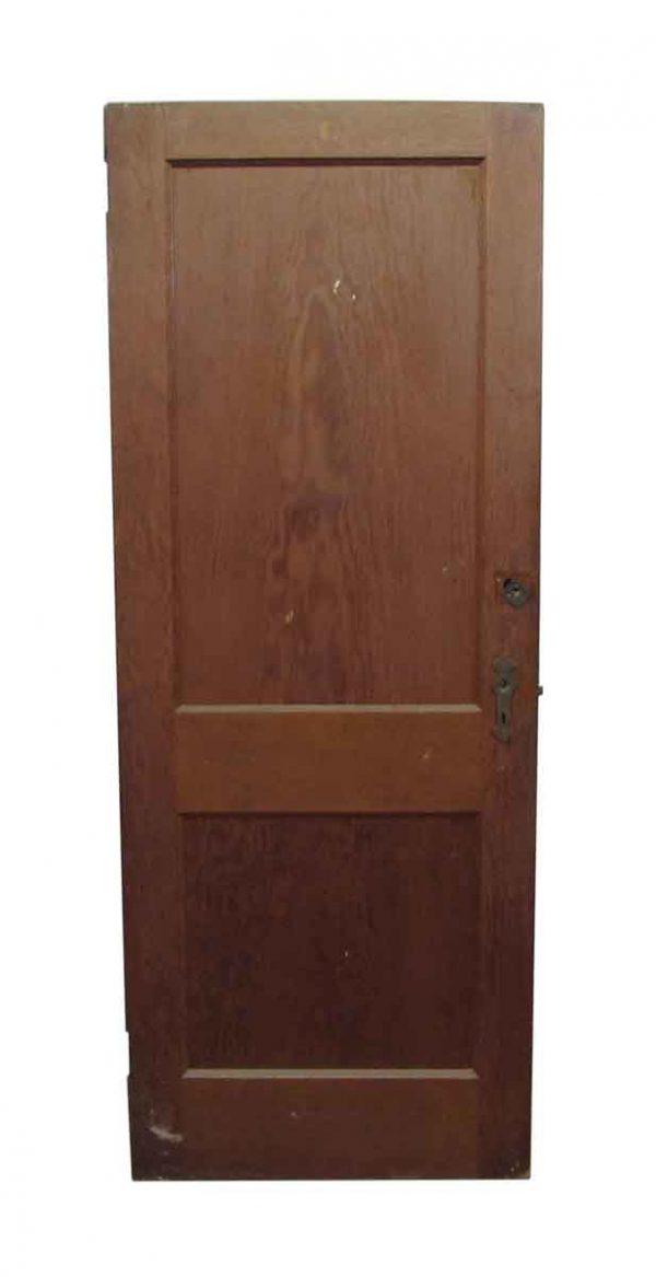 Two Wooden Panel Door