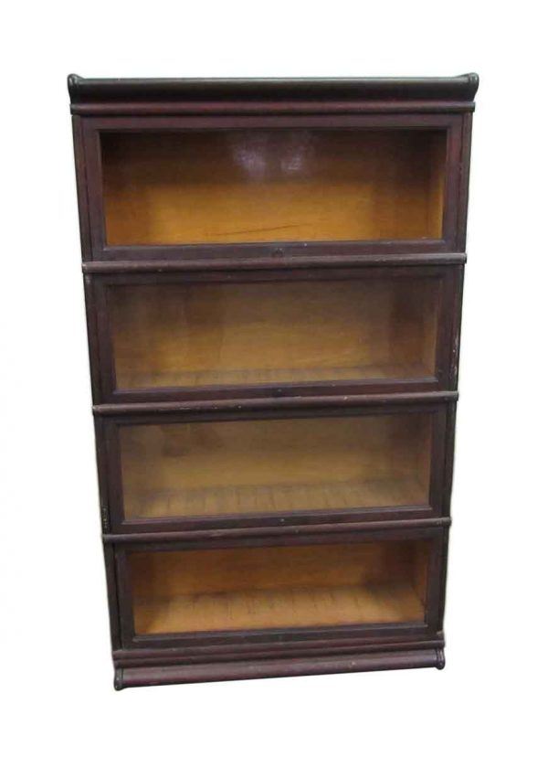 Four Shelf Barrister Bookcase