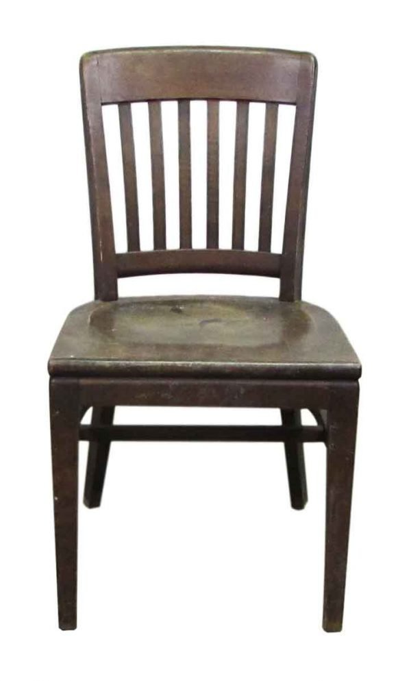 W H Gunlocke Chair Wooden Chair