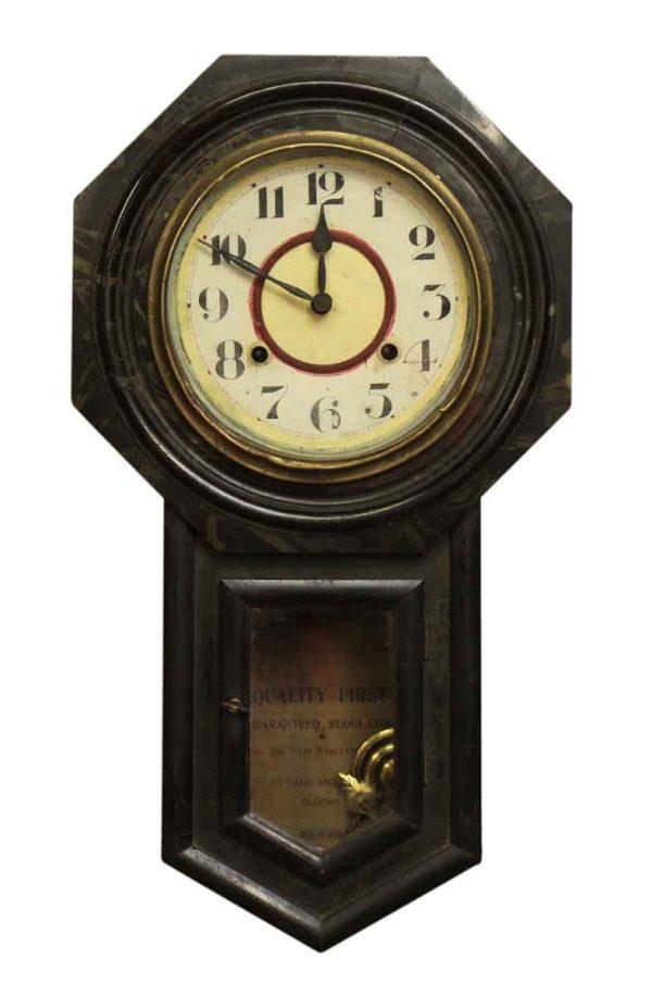 Oriental Wall Clock