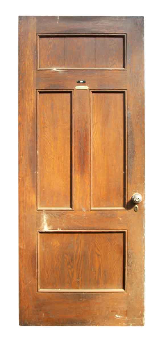 Single Multi Paneled Door