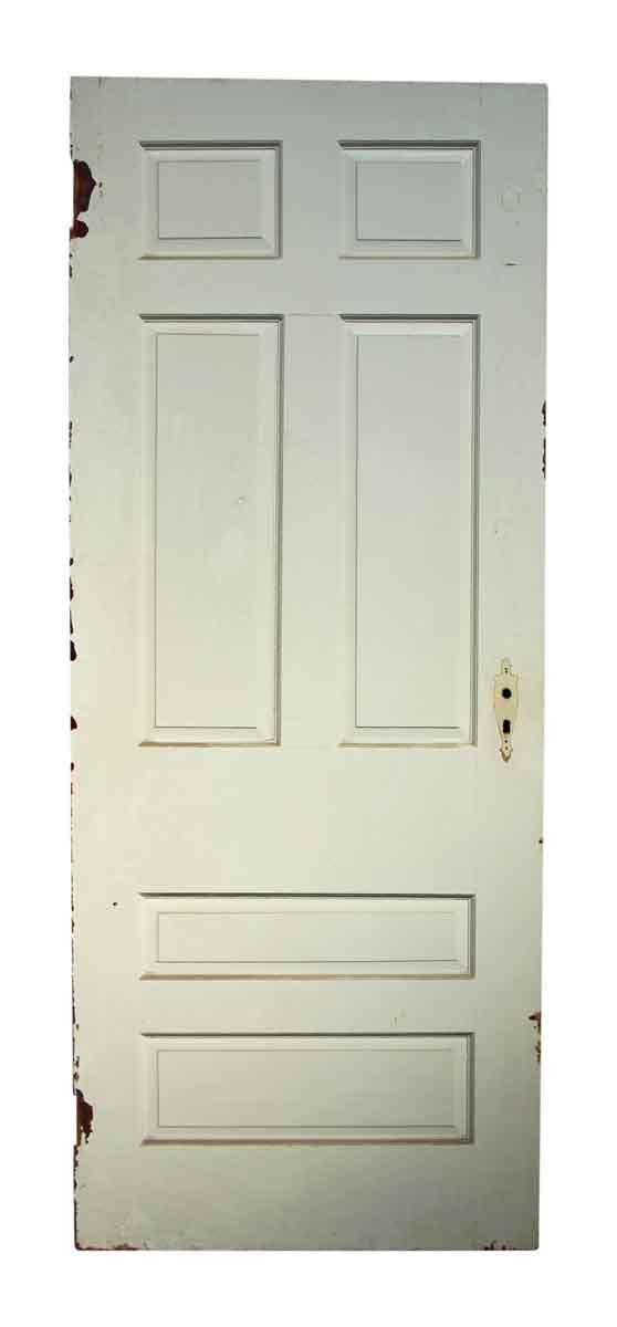 Single White Olde Door