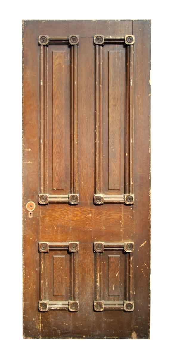 Bullet Paneled Door