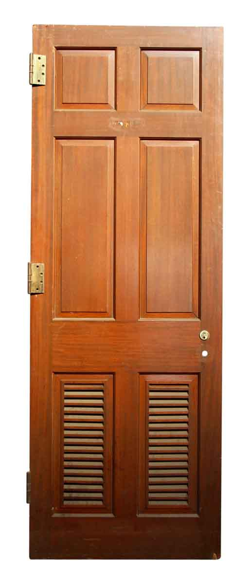 Bottom Shutter Paneled Door