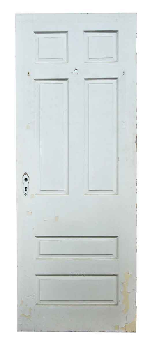 Single Six Multi Squared Paneled Door