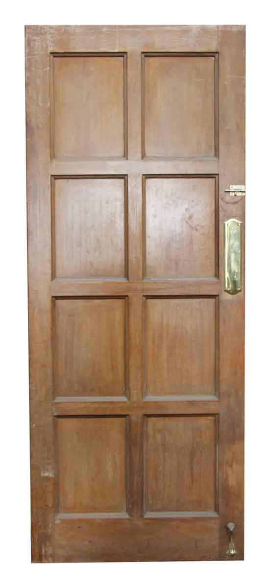 Single Eight Paneled Olde Door