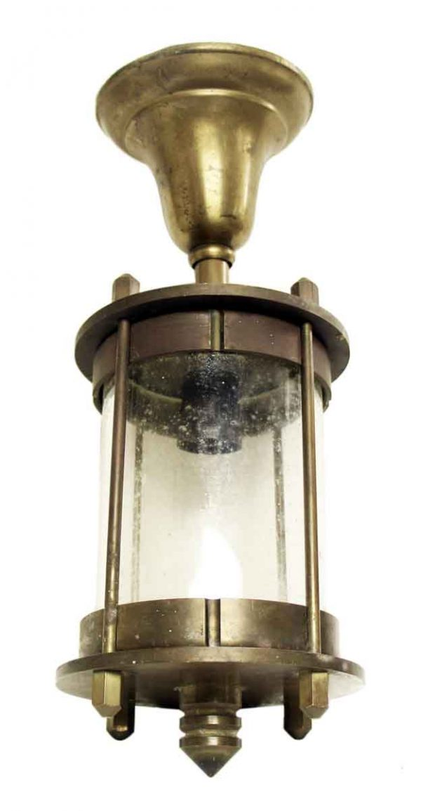 Bronze Lantern with Industrial Theme