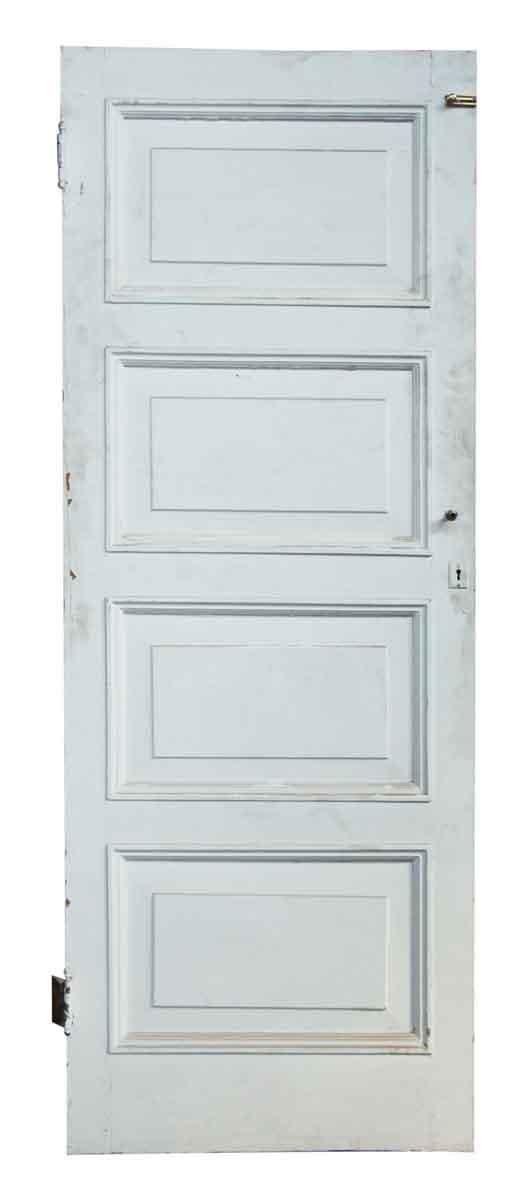 White Olde Four Paneled Door