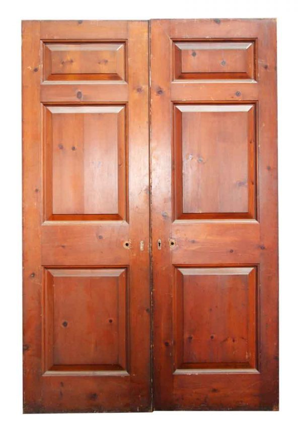 Pair of Three Paneled Double Doors
