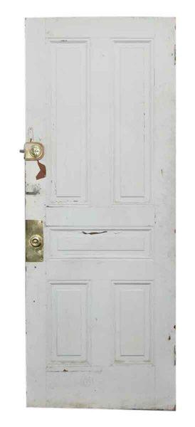 Solid Five Panel Olde Door