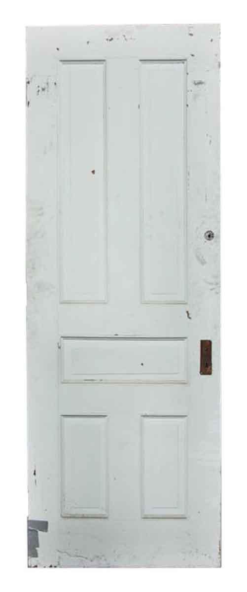 Solid Salvaged White Door