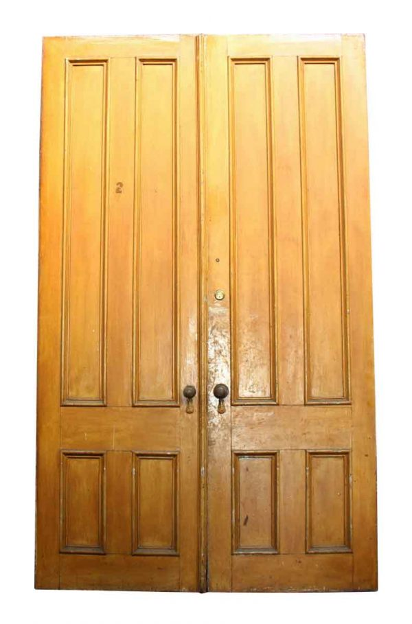 Pair of Doors with a Peep Hole