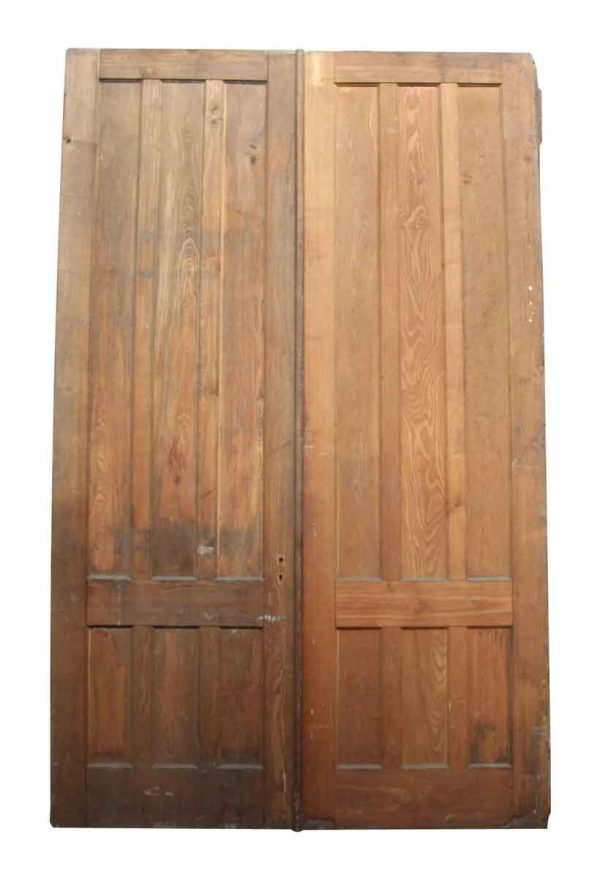 Pair of Tall Solid Doors