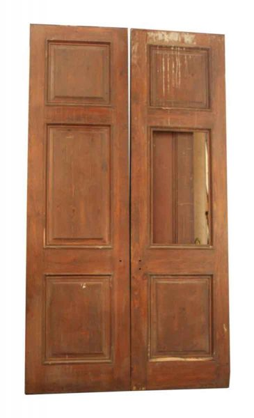 Pair of Doors with a Missing Panel