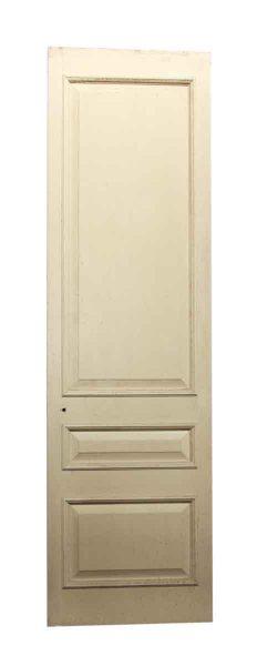 Off White Three Paneled Door
