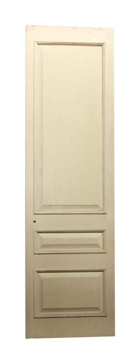 Off White Three Paneled Door