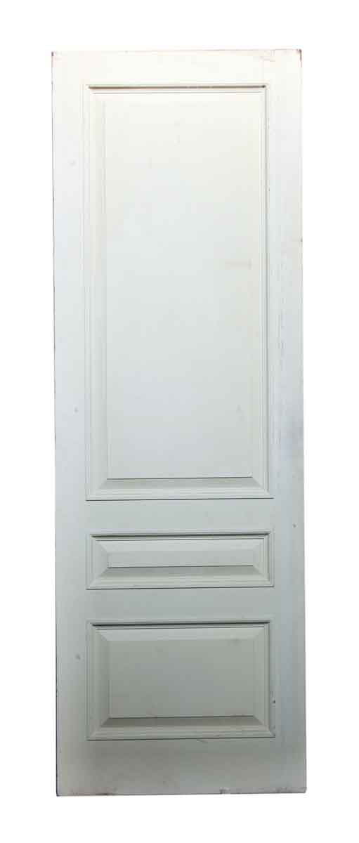 White Three Paneled Door