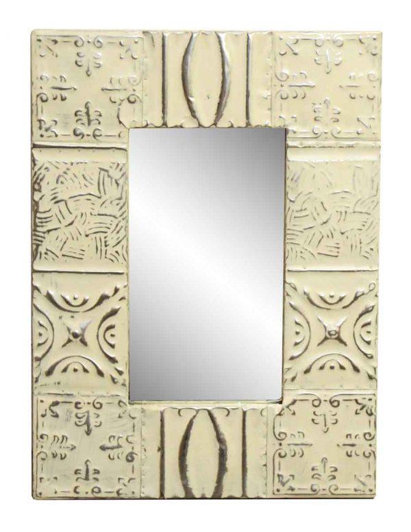 Mixed Pattern Tin Mirror