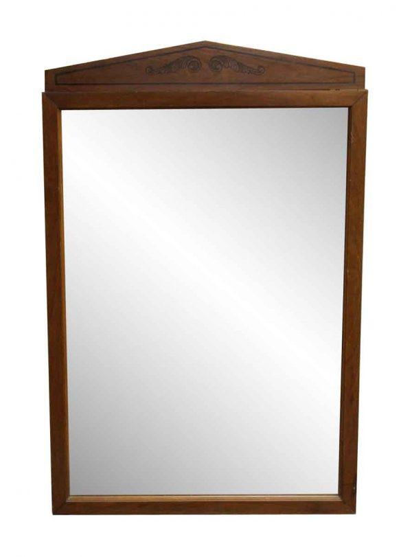 Wing Wooden Dresser Mirror