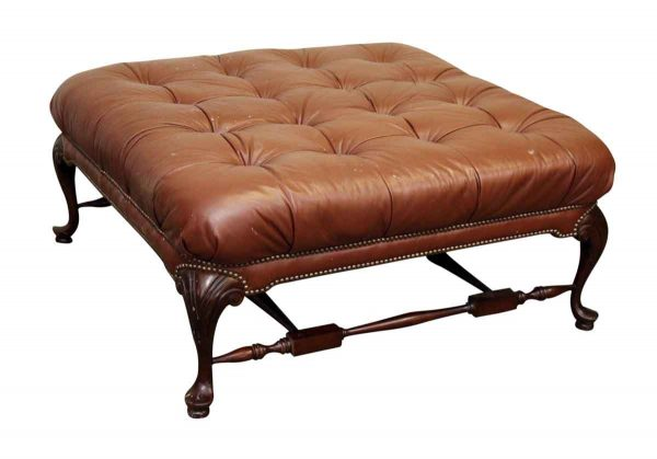 Large Tufted Foot Rest