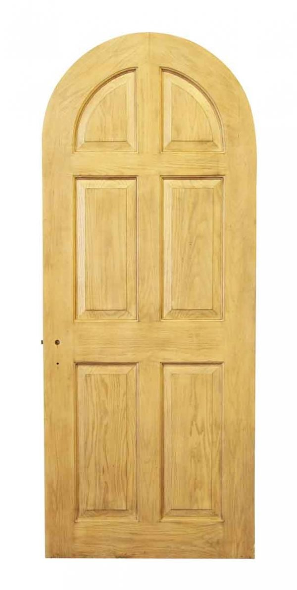 Rounded Top Door