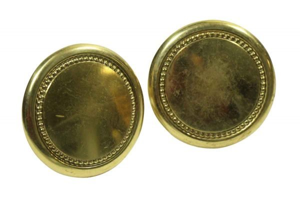 Large Round Brass Knobs or Pulls