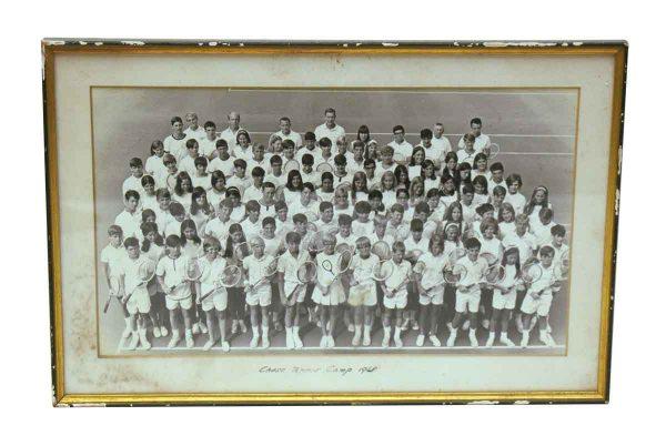 Vintage Tennis Camp Photo