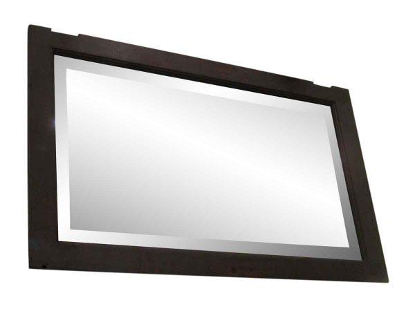Wood Framed Handmade Silvered Mirror