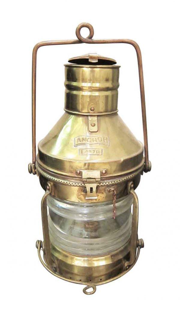 Nautical Anchor Lantern Light