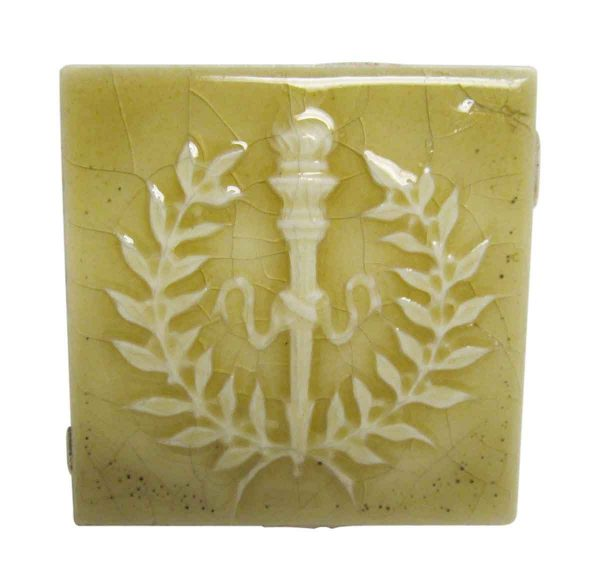 Light Yellow Torch Square Tile Set