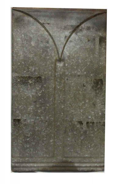Dark Gray Tin Decorative Panel