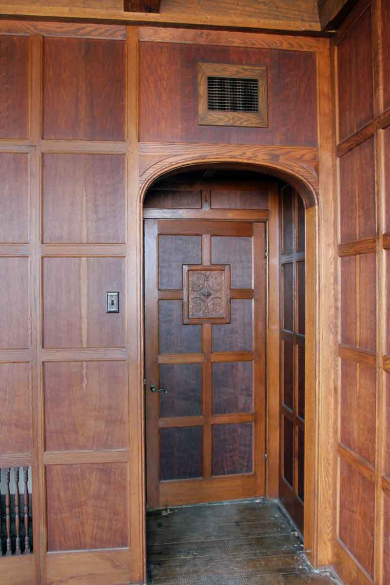 Beautiful Wood Paneled Rooms: Arts & Crafts Solid Oak Paneled Room