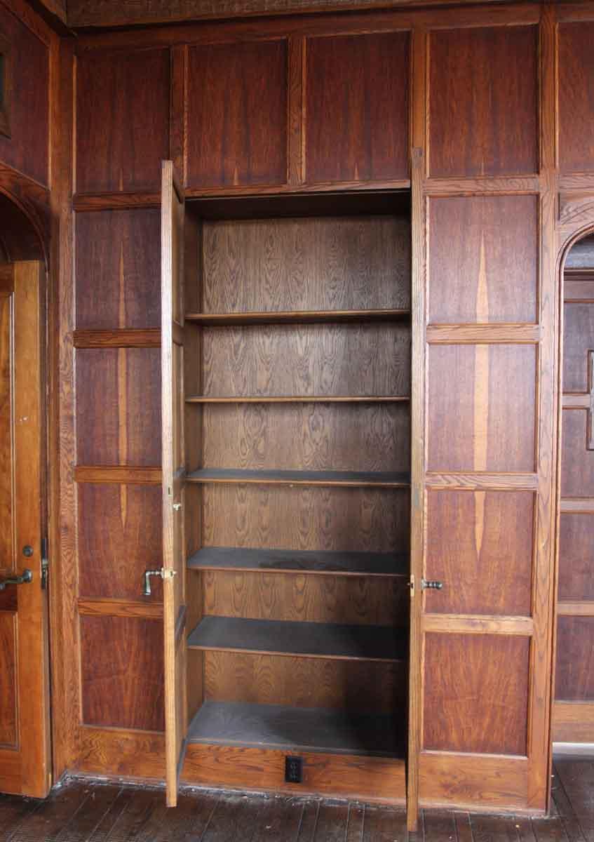 Oak Paneled Room