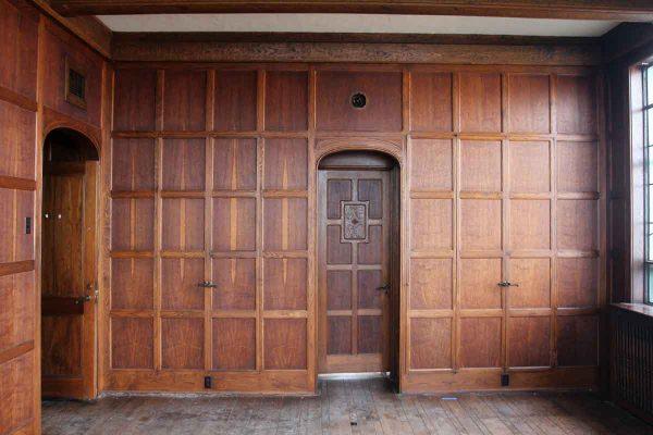 Arts & Crafts Solid Oak Paneled Room