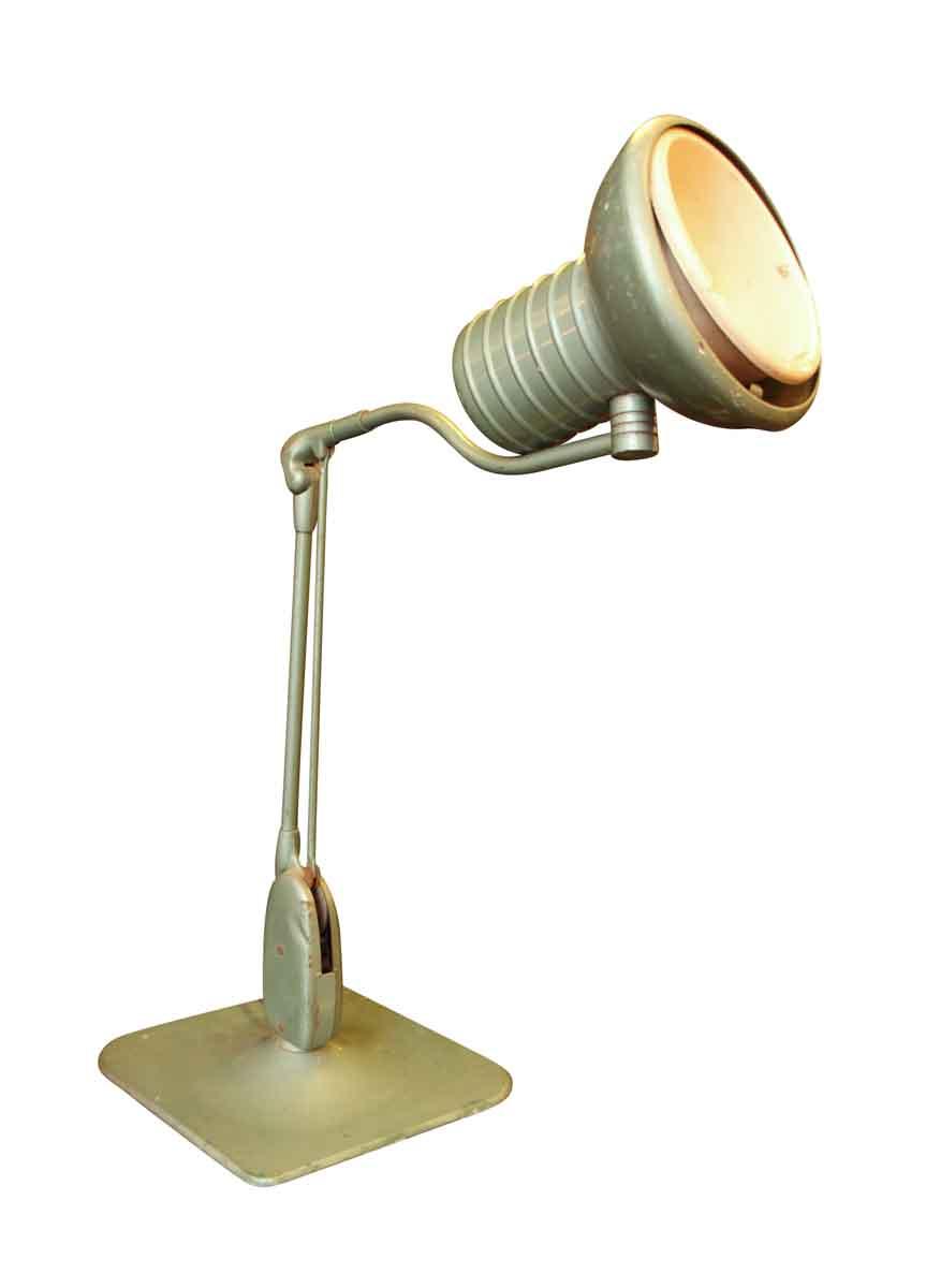 Adjustable Metal Mint Green Desk Lamp Olde Good Things