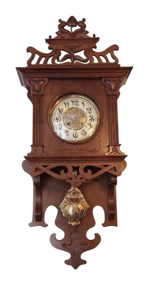 Art Nouvaeu Wall Clock