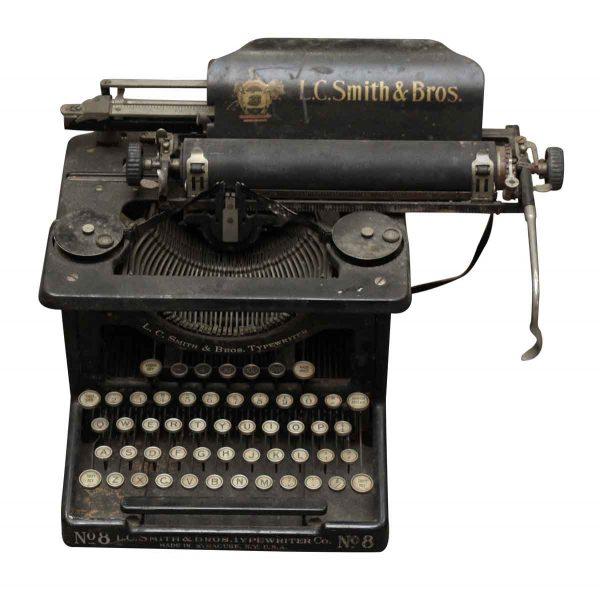 L.c. Smith & Bros. Typewriter