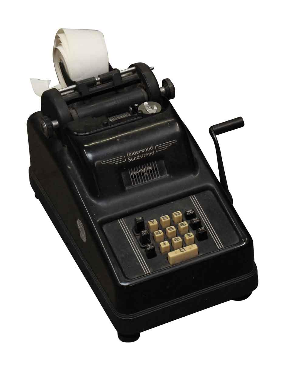 Underwood Sundstrand Calculating Machine Olde Good Things