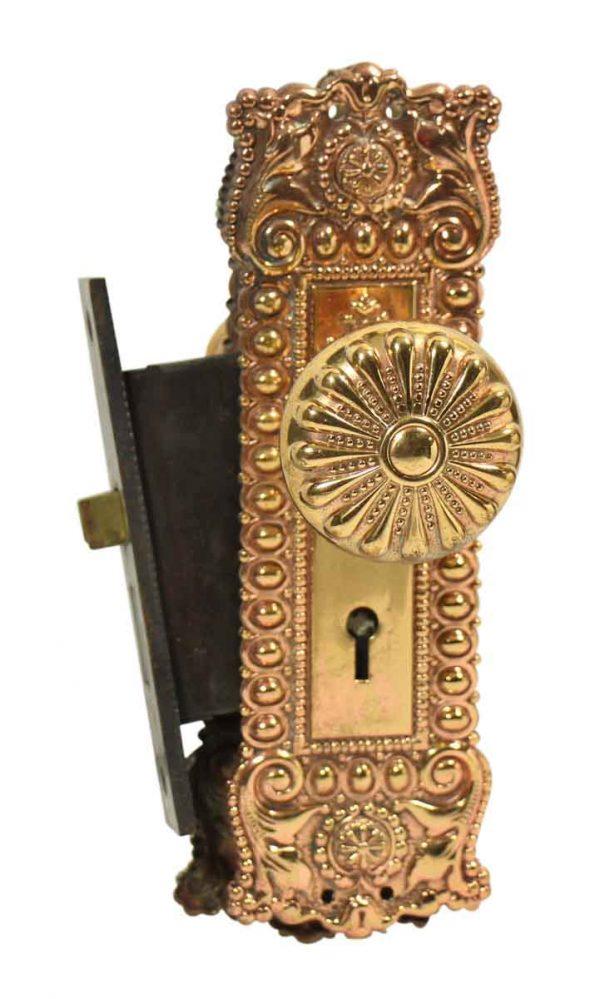 Highly Ornate Knob & Lock Set