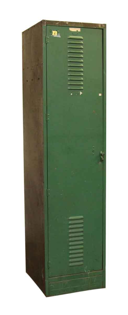 Tall Green Metal Locker