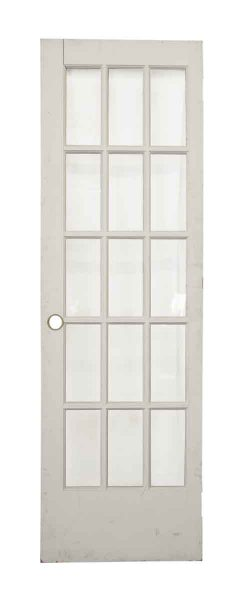 Single Door with Fifteen Glass Panel