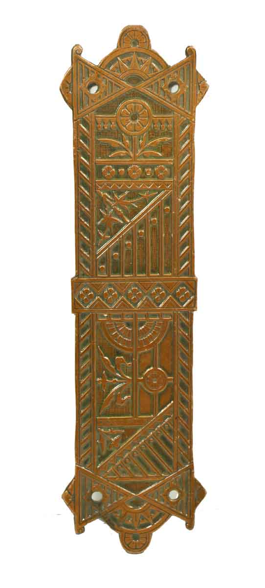 Ornate Eastlake Style Push Plate