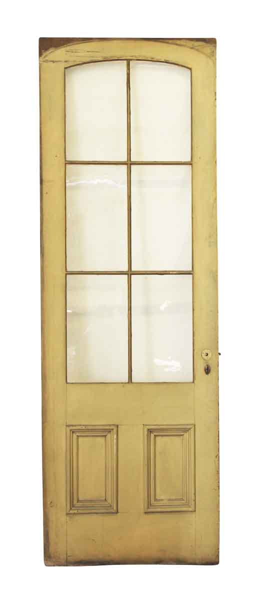 Tall Wavy French Glass Panel Door