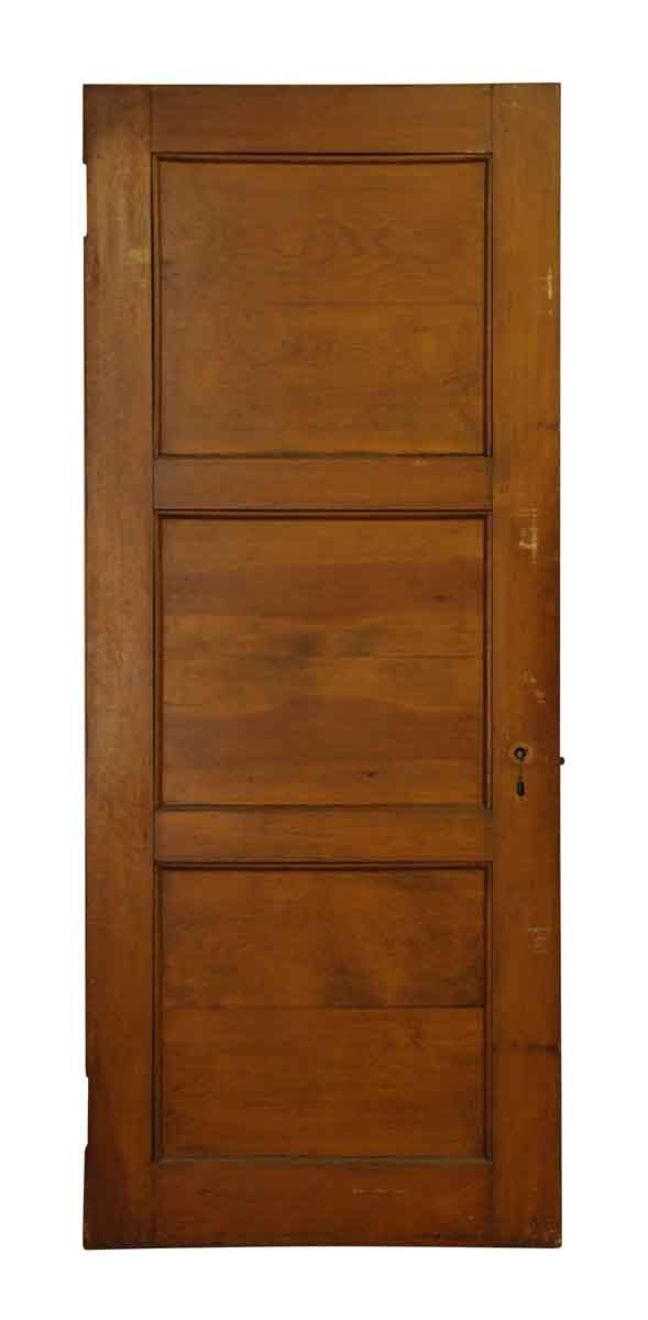 Interior Wooden Door with Three Large Panel