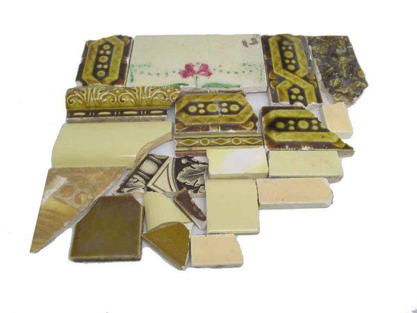 Yellow Variety Broken Tiles