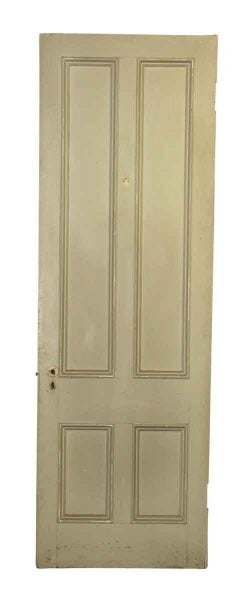 Farm Style Door with Four Long Panels
