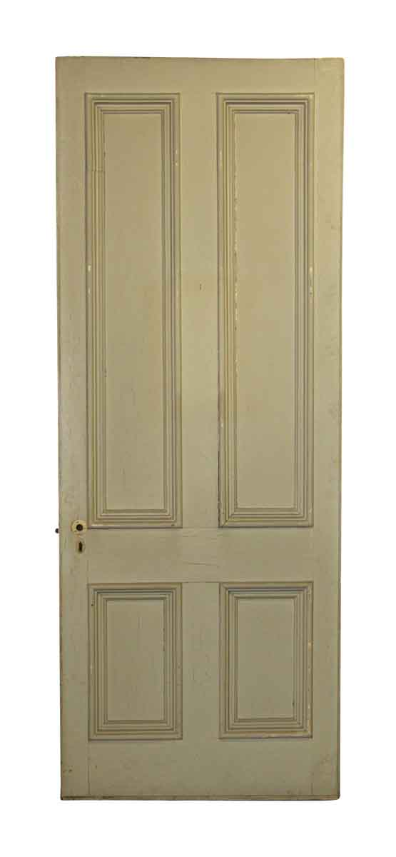 Four panel tall wide entry door olde good things for 12 panel front door