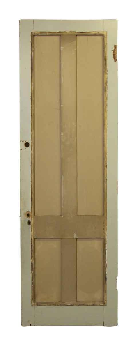 Farm style tall narrow panel door olde good things for Narrow internal doors