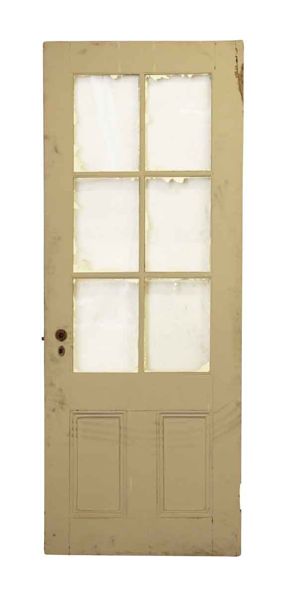 Half Glass Six Pane French Door