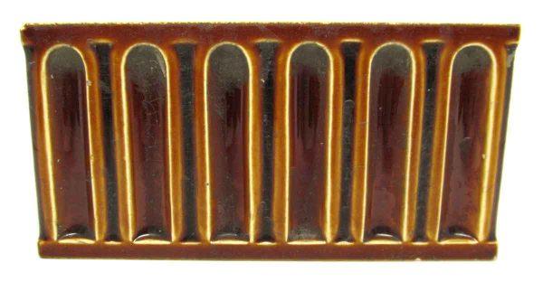 Raised Brown Designed Tiles